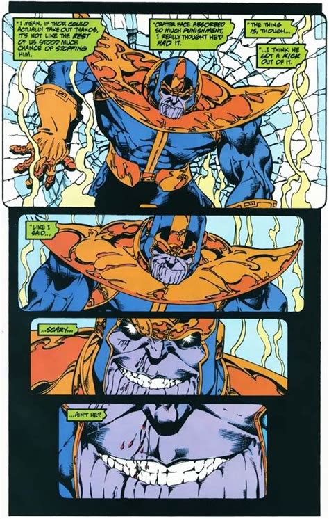 scan battle thor  thanos whowouldwin