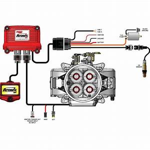 Msd Efi Fuel Pump Kit High Horsepower Atomic