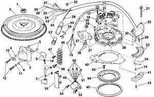 Ignition Parts For 1992 25hp Te25elens Outboard Motor