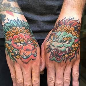 Foo Dog Tattoos Designs - Fu Dog Meaning
