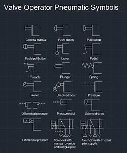 Valve Operator Pneumatic Symbols