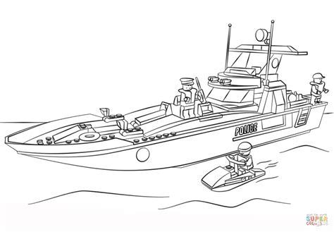 How To Draw A Lego Boat by Kolorowanka Klocki Lego ł 243 Dź Policyjna Kolorowanki Dla