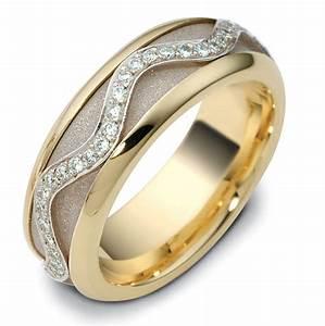 47769 14K Diamond Spinning Wedding Band