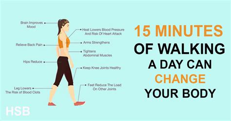 Change Your Body And Live Longer By Walking Just 15 ...