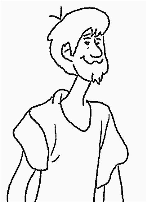 scooby doo desenhos  colorir