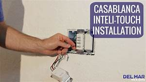 Casablanca Inteli-touch Wall Control Installation