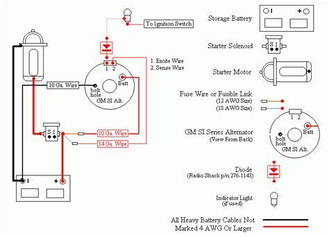 wiring diagram ac delco alternator wiring diagram delco