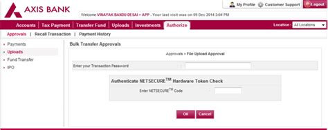 corporate internet banking corporate banking axis bank