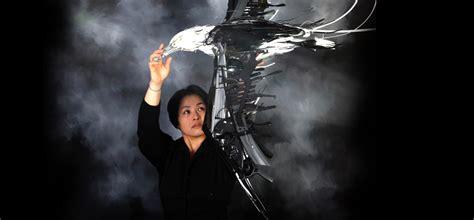 sayaka ganz reclaimed creations vibrant sculptures