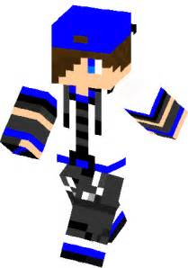 Minecraft Skins Boy with Hat