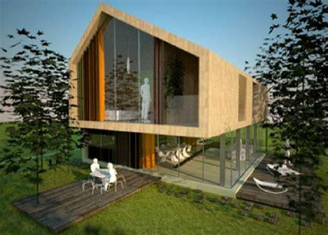 eco friendly residential prototype house aka architetti