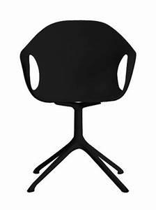Fauteuil Pied Metal : fauteuil elephant trestle coque plastique pied m tal noir kristalia ~ Teatrodelosmanantiales.com Idées de Décoration