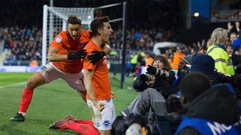 Brighton claim top spot in Championship as Newcastle lose ...
