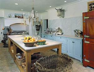 49 impressive kitchen island design ideas top home designs With country kitchen designs with island