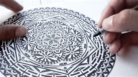 ink mandala  page   color book youtube