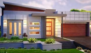 Minimalist One Storey House With Modern Art Small Modern House Plans House Elevation Front Elevation Story House