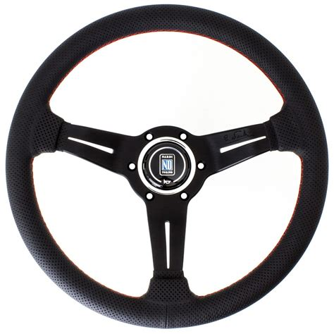 Steering Wheel by Nardi Corn Steering Wheel Perforated Leather With