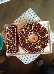 Idée Recette Anniversaire : g teau anniversaire 10 ans birthday cake chocolat anniversaire gateau kids smarties ~ Melissatoandfro.com Idées de Décoration