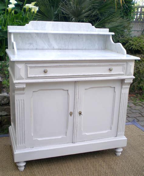 beau meuble ancien pour d 233 co salle de bains avec plateau marbre