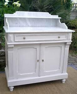 meuble ancien salle de bain marbre table de lit With meuble de salle de bain avec dessus en marbre