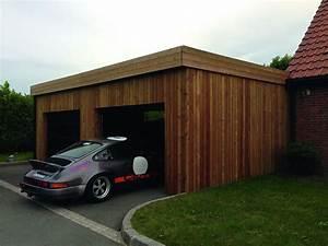 construction garage bois sur mesure devis prix With prix construction garage 60m2