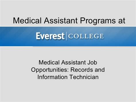 medical assistant jobs no experience required medical assistant job opportunities records and