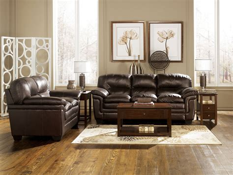 brown leather living room furniture contemporary genuine brown leather sofa set Brown Leather Living Room Furniture