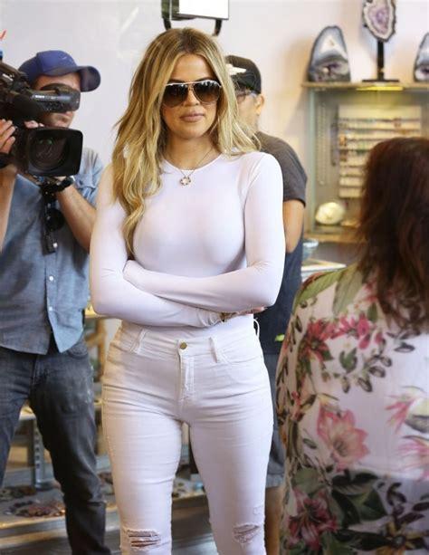 KHLOE KARDASHIAN Shopping in West Hollywood 09/01/2015 ...