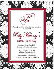 Gtblack and white damask invites sweet peach paperie for Damask wedding invitations template free