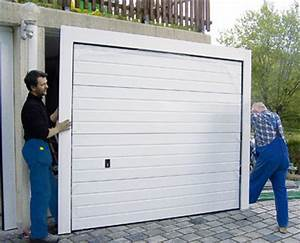 Garagentor Einbau Firmen : renovierungs toranlage erleichtert sanierung von beton fertiggaragen ~ Orissabook.com Haus und Dekorationen