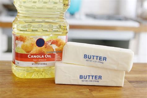 butter substitute baking how to substitute canola oil for butter