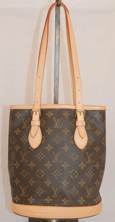 louis vuitton brown small tote handbag  stdibs