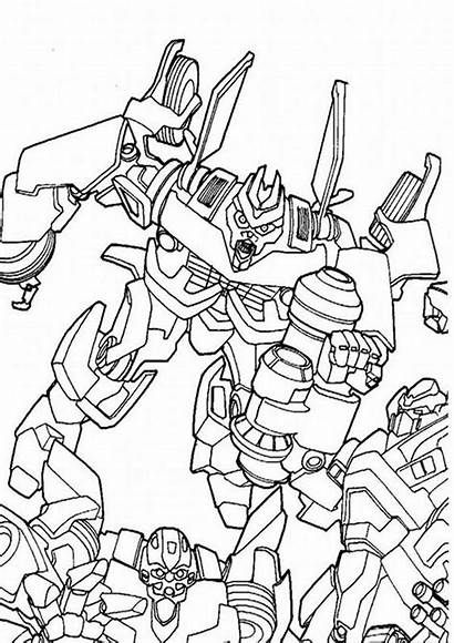 Transformers Coloring Pages Easy Tulamama Fly