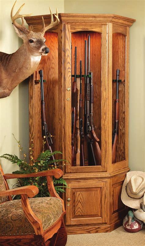 wood gun cabinet amish gun cabinets oak cherry maple gun cabinets