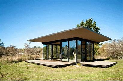 Cabin Outdoor Remote Olson Secure Kundig Decks