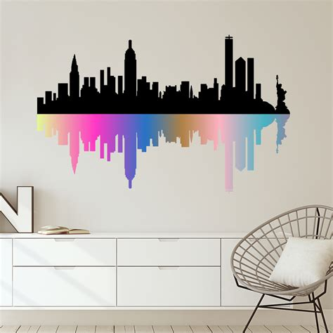 sticker geant new york best stickers headboard bed deco room new york ebay stickers muraux deco