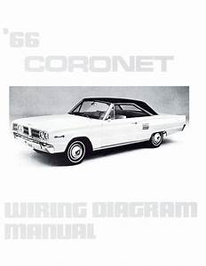 1966 66 Dodge Coronet Wiring Diagram Manual
