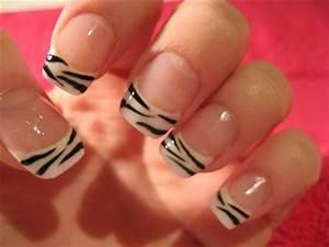 Our favourite diy zebra print nail design nzgirl