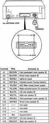 1997 Acura Cl Radio Wire Diagram