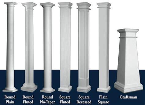 square living room ideas pillars  column designs