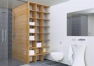 Holz Regal Als Raumteiler Idee Einrichtung