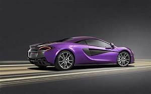 McLaren Purple Beautiful Car HD Wallpapers New Hd