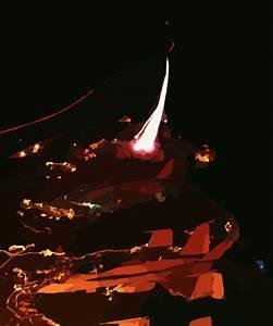 Night Launch Aboard Cvn 74 Clip Art at Clker.com