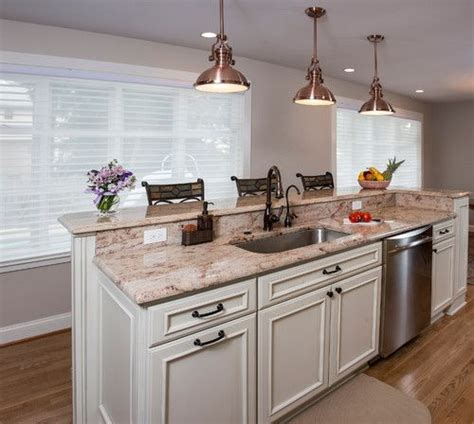 kitchen island with sink and dishwasher and seating two tier island with sink and dishwasher would prefer