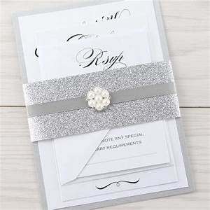oscar parcel pure invitation wedding invites With samples of silver wedding invitations