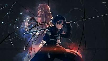 Kirito Asuna Sword Anime Wallpapers