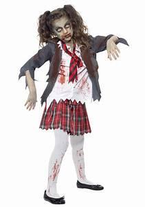 zombie costume ideas for kids | Kids Zombie School Girl ...