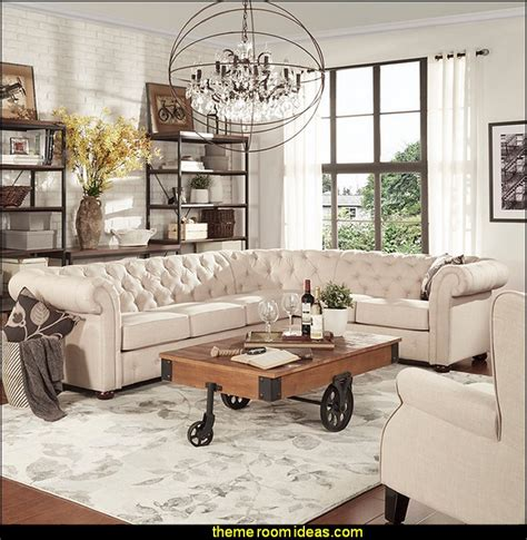 furniture living room decorating theme bedrooms maries manor industrial Industrial