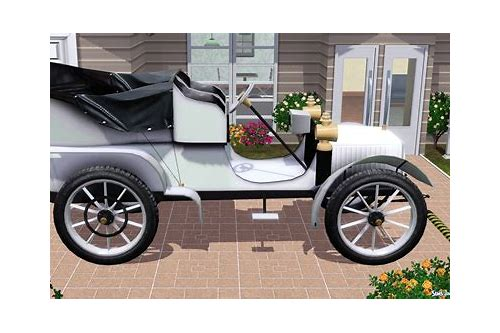 sims 2 baixars vintage cars