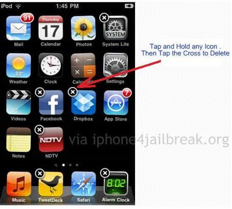 cannot apps iphone how to delete apps from iphone 4
